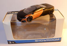 NOREV 3 INCHES 1/54 PEUGEOT CONCEPT CAR ONYX 2012 BICOLORE IN BOX roues noires