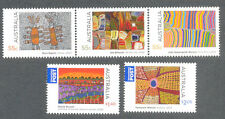 Australia-Indigenous Culture-paintings-Art mnh(3178-82)Aboriginal