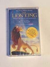 NEW SEALED The Lion King Soundtrack Cassette Tape1994 WALT DISNEY NIP HTF