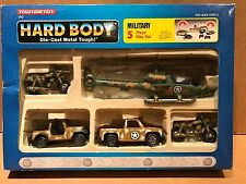 1992 TOOTSIETOY HARD BODY DIE-CAST 5 PIECE MILITARY BOXED PLAY SET NO. 1742 NOS