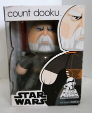 2008 Hasbro Mighty Muggs Star Wars Count Dooku 6in. Action Figure NIB