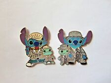 Disney Pin - HKDL Stitch and Scrump Mini Starter Set
