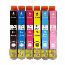 6 x Internet-ink 24XL Compatible Ink For Epson XP-750 XP-760 XP-850 XP-860