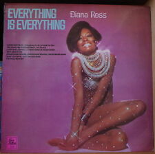 DIANA ROSS EVERYTHING IS EVERYTHING SEXY CHEESECAKE COVER UK PRESS LP