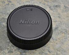 Excellent Genuine Nikon NIKKOR LF-1 Rear Lens Cap F Mount AF-S AF Ai-S (#1503)