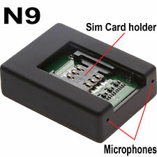 MINI BUG GSM WIRELESS N9 SPY AUDIO LISTENING Device Hear Sound ON PHONE ANYWHERE