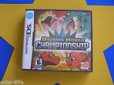 DIGIMON WORLD CHAMPIONSHIP-  NINTENDO DS