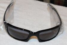 Oakley Men's Fives Squared OO9238-04 Black Rectangle Sunglasses Authentic