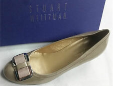 Stuart Weitzman Russell Bromley Shoes Heels Taupe SW Bow US 9 UK 7