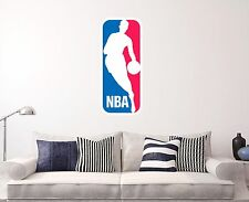 NBA Wall Decal Sports Baseball Sticker Decor Vinyl  Many sizes All the teams
