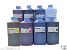 8 Quart Dye refill ink for Epson 54 T054 Stylus  R800 R1800 Printer