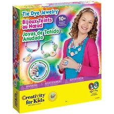 Tie Dye Jewelry Kit Creativity For Kids NEW bracelet ring necklace tye die art