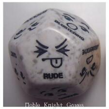 RPG Dice Dice d12 Attitude Interaction MINT