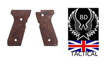 AIRSOFT wood effect pistol grips x2 set KWJ