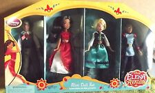 DISNEY'S ELENA OF AVALOR 4 PC. MINI DOLL SET W/CLOTHING. MATEO,ELENA,NAOMI,GABE