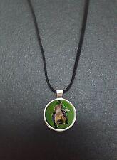 """Chauve-souris pendentif sur un 18"""" noir cord collier idéal anniversaire cadeau N443"""