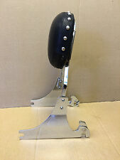 USED Studded Detachable Sissy Bar Passenger Backrest -Harley Softail 200mm Tire