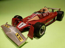 BBURAGO 1:14  FERRARI 312 T2   - WORLD CHAMPION   2101  - IN GOOD CONDITION