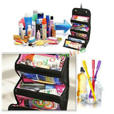 Women Multifunction Travel Cosmetic Bag Makeup Case Pouch Toiletry Organizer Q