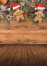 Merry Christmas Background Photo Studio Props Photography Backdrops Vinyl 5x7FT