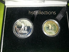 Malaysia Astronomy Proof Coin Set of 2 2009 Rare