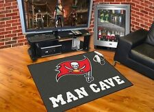 "Tampa Bay Buccaneers NFL All Star Man Cave Area Rug Floor Mat 34"" x 45"""