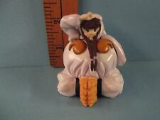 "Vampire Savior Saskachi 2.25""in PVC Figure Cute face girl inside Monster yeti!!"