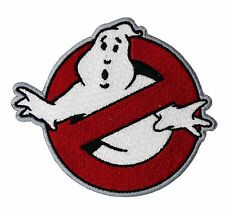 """Ghostbusters Patch Embroidered Badge 4"""""""