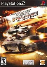 FAST AND THE FURIOUS COMPLETE PS2 PlayStation 2 GAME (nap)