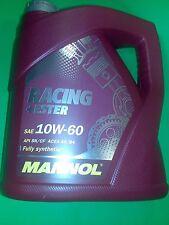 10W-60 Motoröl 4 Liter Mannol Racing+Ester Öl 10W60 API SN SM CF ACEA A3 B3 B4