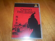 CHINA'S FIRST EMPEROR China Feudal Warlord Era Empire HISTORY CHANNEL Rare DVD