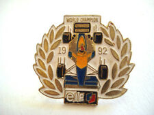 PINS RALLYE COMPETITION FORMULE 1 F1 TEAM ELF WORLD CHAMPION 1992