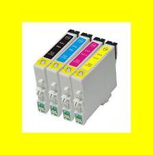 4 x komp. Patronen für Epson Stylus D68 D88 DX3850 DX4200 DX4250 * ersetzt T0615