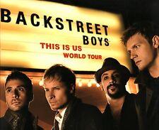 BACKSTREET BOYS 2010 THIS IS US TOUR CONCERT PROGRAM BOOK / NEAR MINT 2 MINT