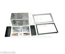 CONNECTS2 VAUXHALL OMEGA DOUBLE DIN FACIA KIT SILVER