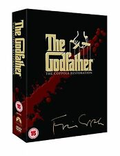GODFATHER Complete Trilogy Movie Collection Part 1 2 3 DVD Boxset All Films New