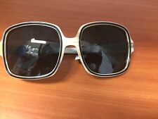 NWT Stella McCartney Gradient Sunglasses Ivori/ Back 100% UVA &UVB Aviators 2014