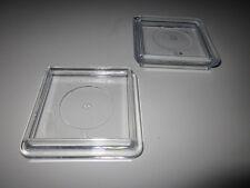 2 Möbeluntersetzer eckig 60 mm schwere Ausführung,Möbelgleiter Gleiter Möbelfüße