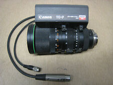 Canon TC-F CCD 12x J12x10B4 J12x10B 10-120mm 1:1.7 Macro TV Camera Zoom Lens