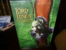Sideshow Weta Collectibles-Lord of the Rings -Moria Orc Swordsman polystone bust