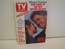 TV Guide   Jan. 9-15 1993     Inaugural Exclusive  NO LABEL