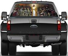 Jesus Christ King Of All People Window Graphic Decal Sticker Truck SUV Van Car