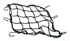 "Emgo Universal Black Motorcycle Cargo Net 15"" x 15"" 5mm Cord 6 Hook - 78-60500"