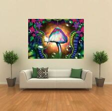 MAGIC MUSHROOMS TRIPPY NEW GIANT POSTER WALL ART PRINT PICTURE G158