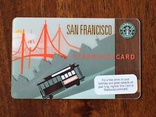 Rare New MINT Starbucks Card 2009 San Francisco Trolley Car Limited Edition