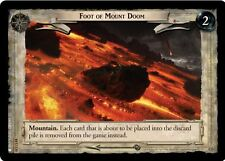LOTR TCG T&D Treachery & Deceit Foot Of Mount Doom 18U135