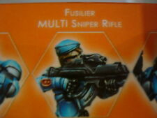 Infinity Panoceania Fusiliers Fusilier Multi Sniper Rifle metal new