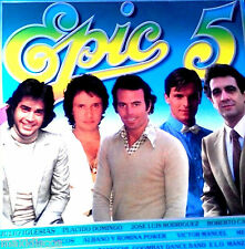 LP - Epic 5 - El Disco de Oro de Epic - Various (Spanish Promo, Edited 1982) NM