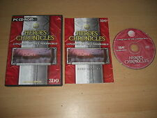Heroes Chronicles-conquête de l'inframonde PC CD ROM rapide 1ère classe post