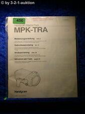 Sony Bedienungsanleitung MPK TRA Handycam Marine Pack (#0456)